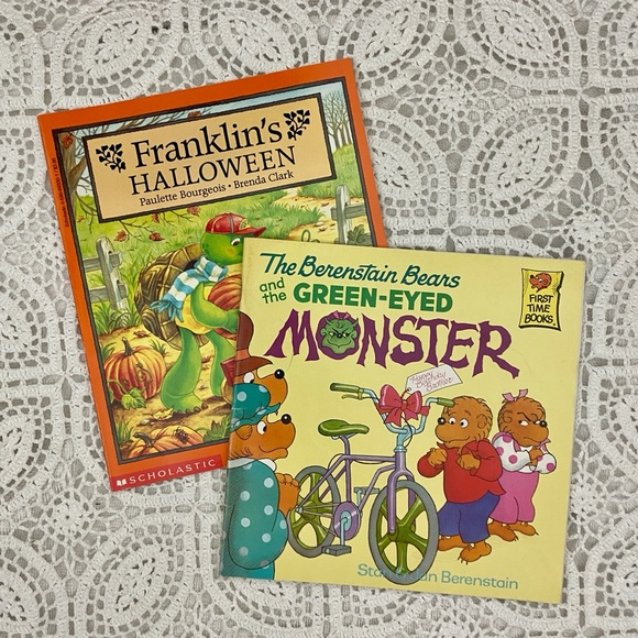 Two 90s kids books